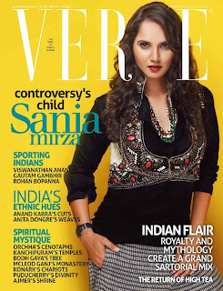 Sania Mirza on the Cover of Verve Magazine