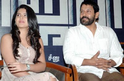 2011-June-film-Vikram-Deeksha-Seth-Suseendiran-Rajapattai-movie-launch