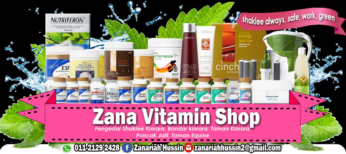 Zana vitamin shop