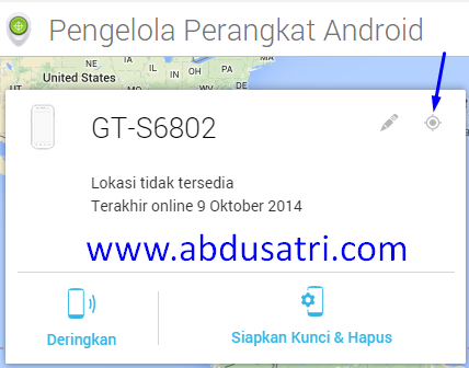 cara melacak lokasi HP android dengan mudah dan cepat