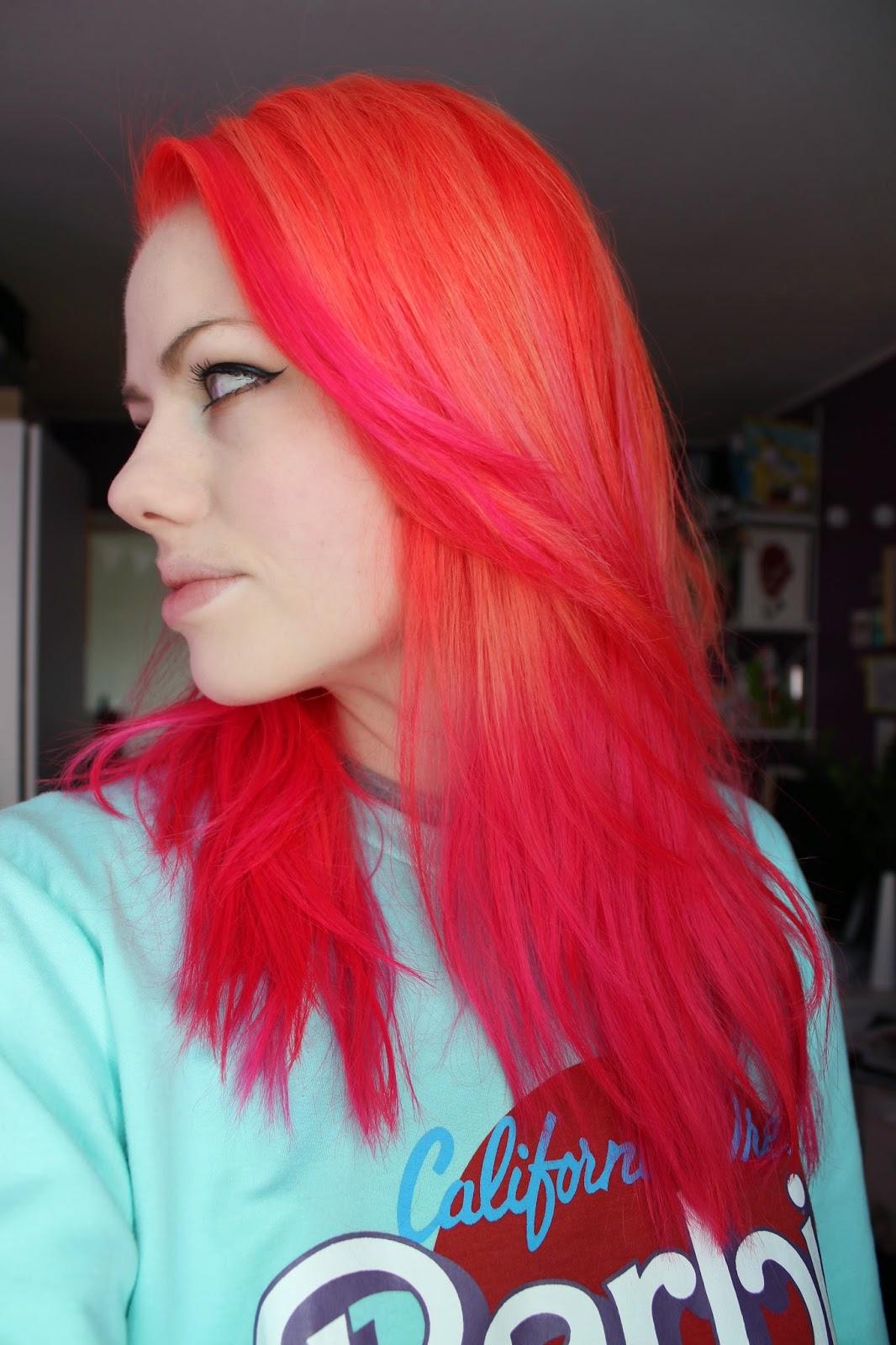 Sus Exterior New Hair Mandarin Flamingo Pink