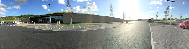 Gloucester Services in the sunshine
