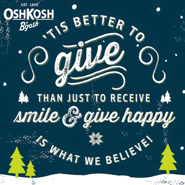 OshKosh #GiveHappy