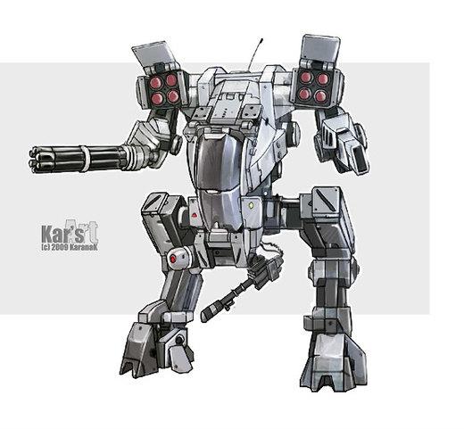 Assault Mech II por KaranaK