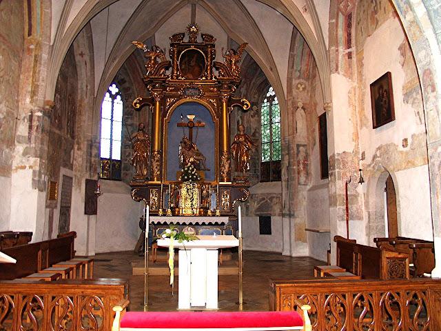 Old church of Garmisch - catholic