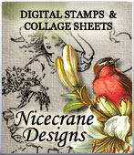 I proudly design for Nicecrane Designs