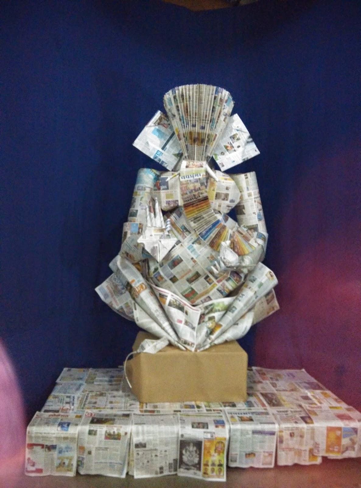 ganesha papercraft