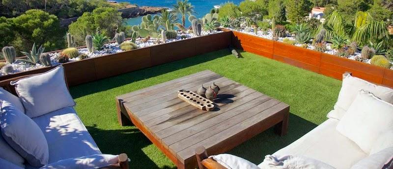 Como decorar tu terraza junio 2014 - Colocar cesped artificial ...