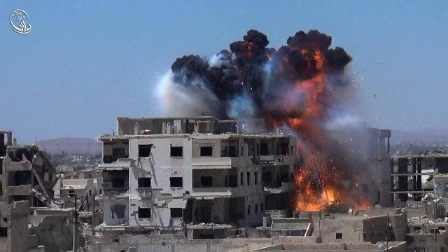 Το Ισλαμικό Κράτος τα γνωστά μαστουρωμένα και μολυσμένα  ζομπι «πλήρωσαν» έφοδο στη Ντέιρ Αλ Ζουρ με 40 νεκρούς