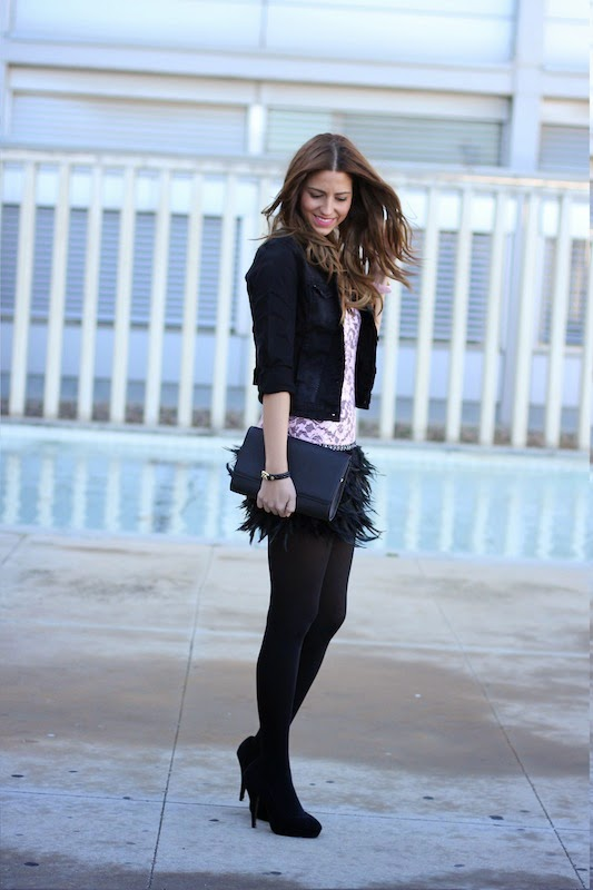 outfit_blogger_fashion_dress_vestido_plumas_moda_estilo