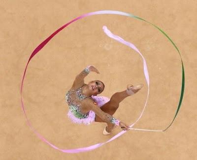Kanaeva en los Juegos de Londres 2012