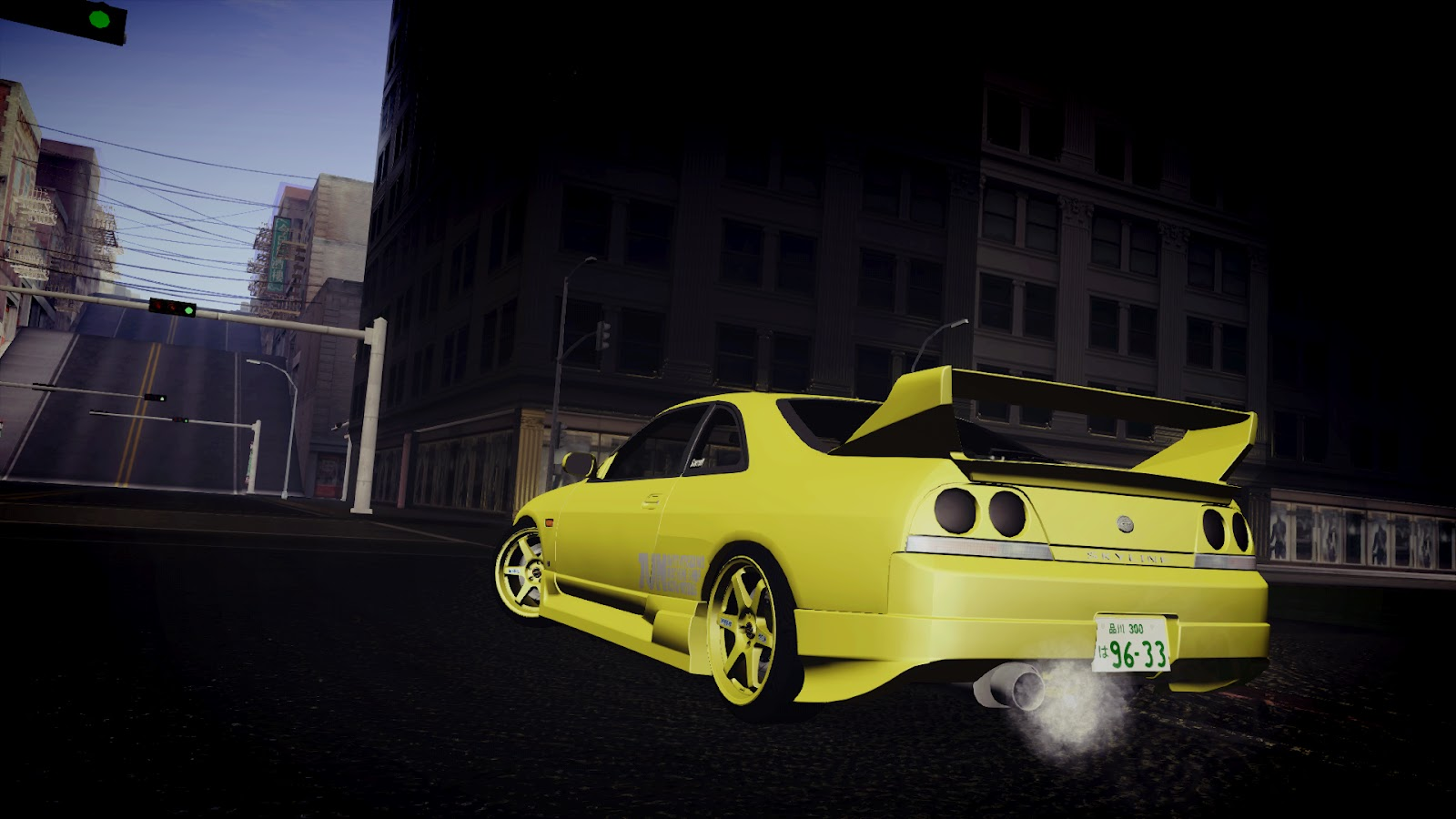 Autos Media  Jun  U0026quot Super Lemon U0026quot  Nissan Skyline Gts R33