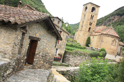 Sant Cristòfol romanesque church in Beget