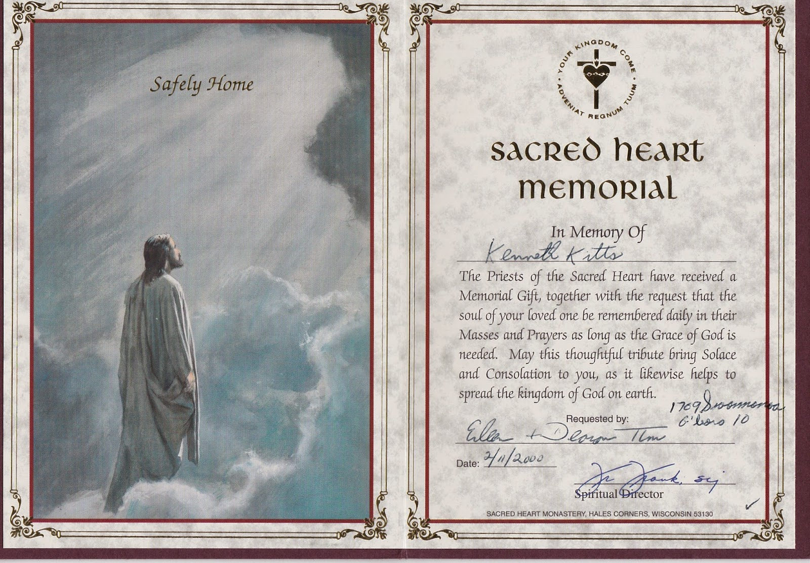 Dawning Genealogy: The Death of Our Son Part 3