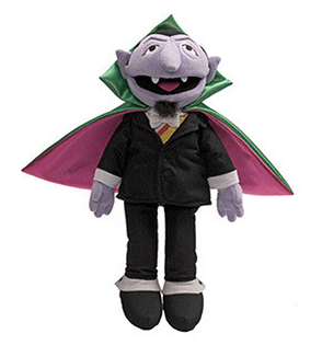 Count von Count from Sesame street