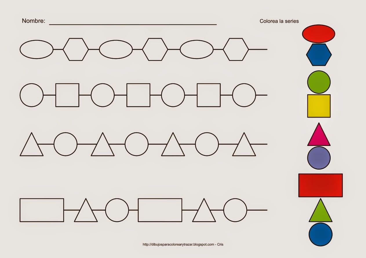 Educación Infantil con TIC: Series geométricas