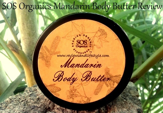 SOS Organics Mandarin Body Butter Review