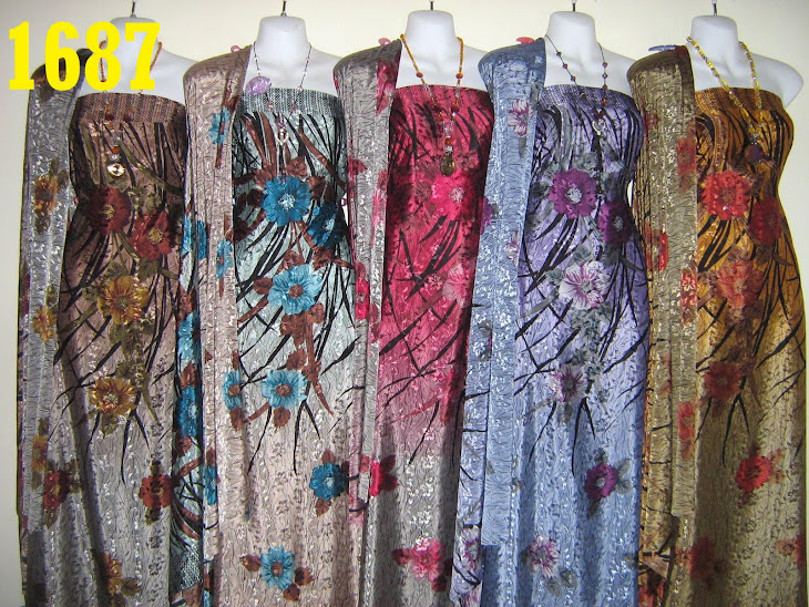 SW 1687: SUTERA WANGI, 4 METER, EXCLUSIVE DESIGN, 5 COLORS