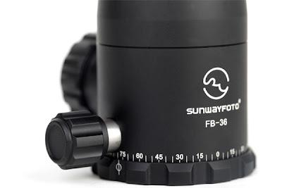 Sunwayfoto FB-Series Panning base detail