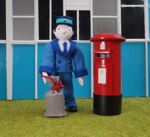 MOONBASE CENTRAL Scratch Postman from Camberwick Green