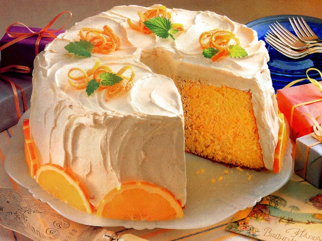 كيك بالبرتقال و كيفية عمل كيكه البرتقال