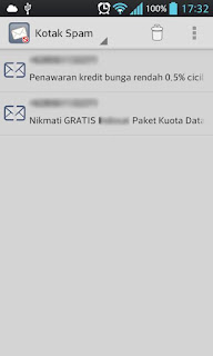 Tips Mencegah SMS Spam di Android