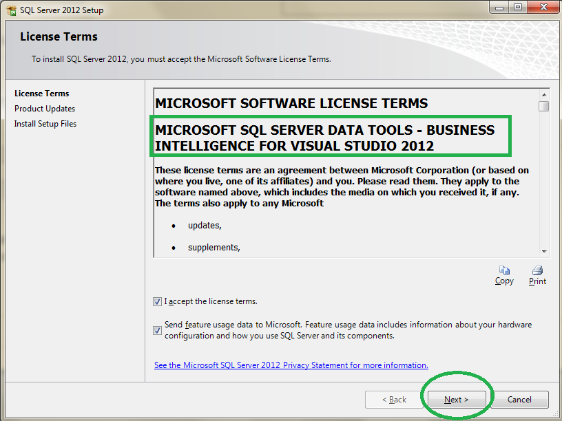 How to install Business Intelligence Development Studio (BIDS) on Visual Studio 2012 and Sql Server 2008 1