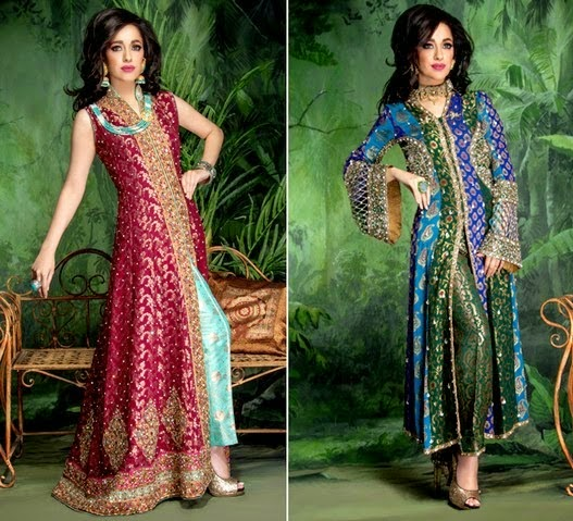 Gul's's Fashion Designer Bridal Dress Collection 2014