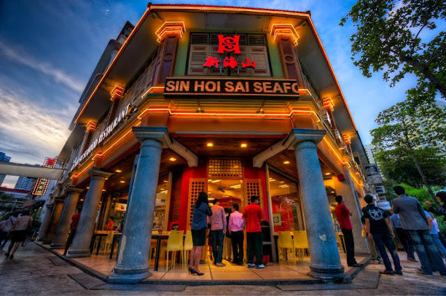 Sin Hoi Sai Seafood Restaurant, Tiong Bahru, Singapore - after editing