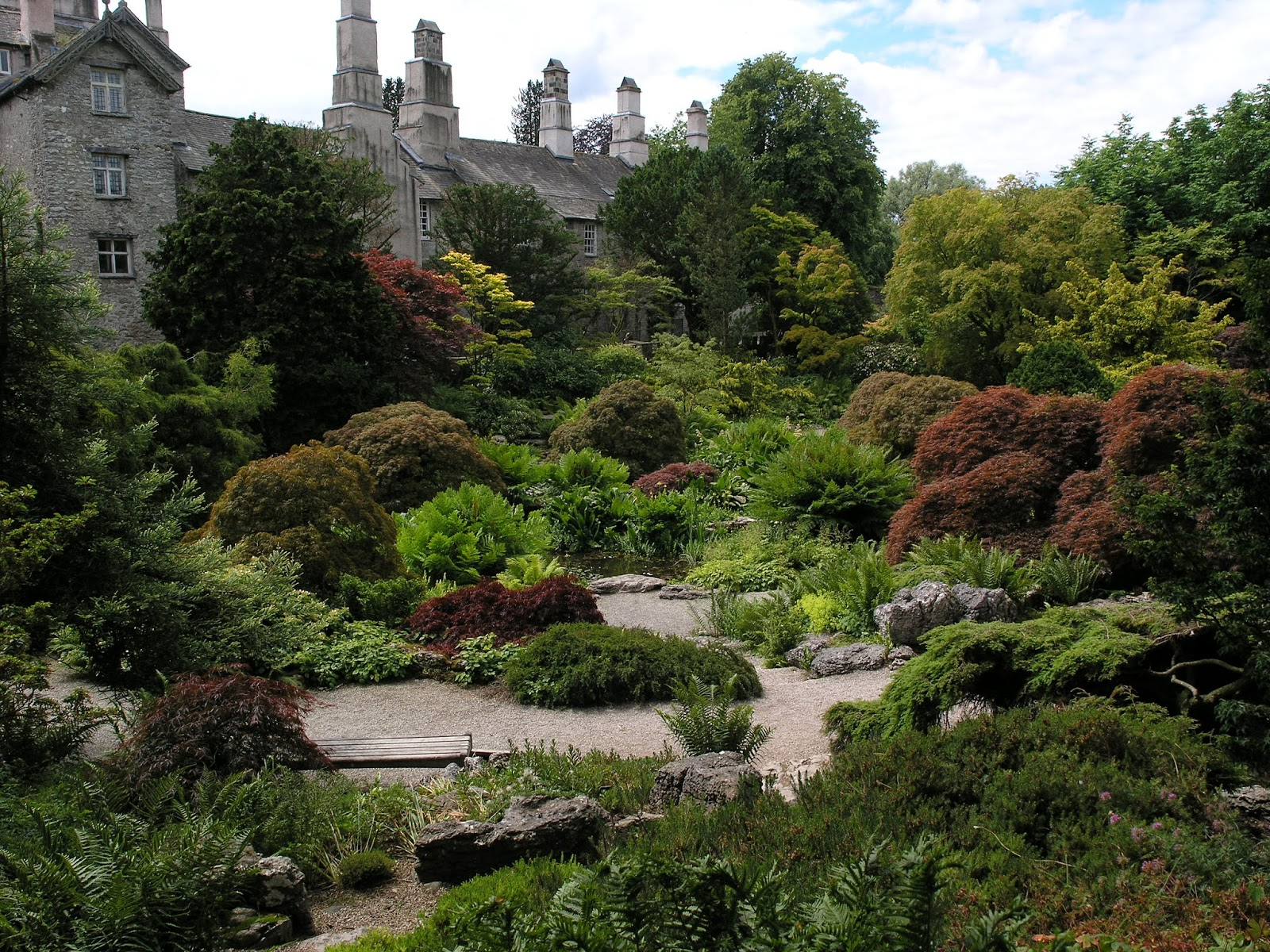David Keegans Garden Design Blog A Visit To Sizergh Castle In The Lake District Kendal Cumbria