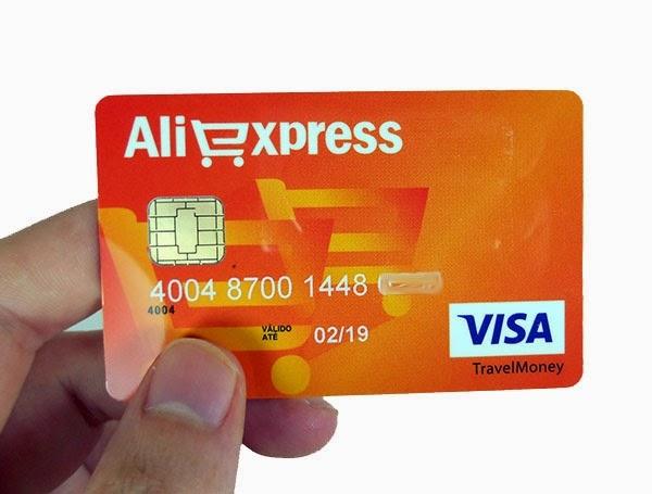 Cartão Visa AliExpress - Conheça a mais nova opção de Pré-Pago