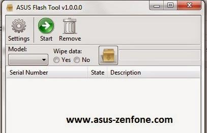 Asus Zenfone 4 5 6 RAW Firmware for ASUS Flashtool