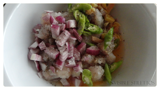 Spanish Mackerel Ceviche (Kinilaw na Tanigue)