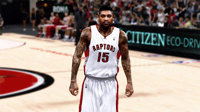 NBA 2K13 Amir Johnson Arms Tattoos Update