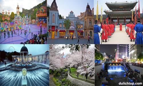 Tour Du Lịch Hàn Quốc 5 Ngày Chương Trình Đặc Sắc Khởi Hành Trong Tháng Tour+seoul-everland