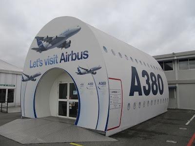 lets visit airbus toulouse