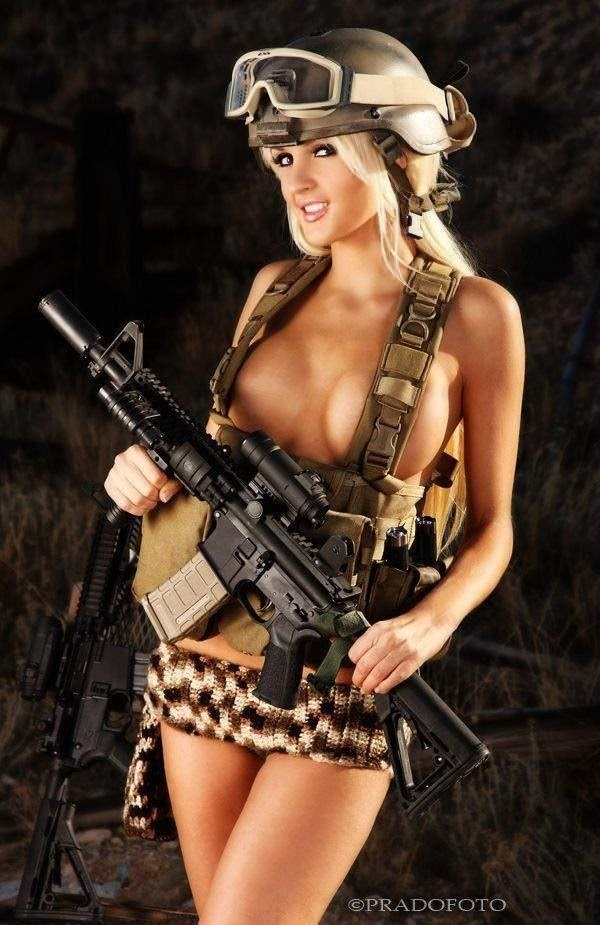 so hot military girl