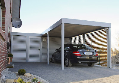 Ide Desain Carport Rumah Minimalis Modern