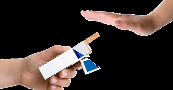 Dependência mental de fumagem de nicotina