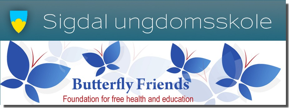 Sigdal ungdomsskole - Butterfly Friends