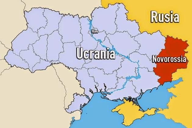 Donetsk e Lugansk proclamam Estado único de Nova Rússia