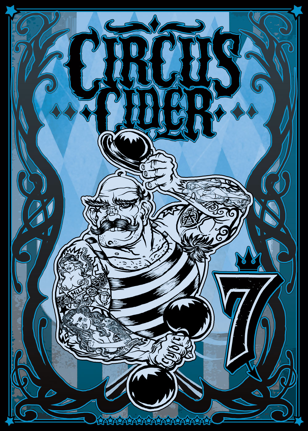 Circus Cider Strongman