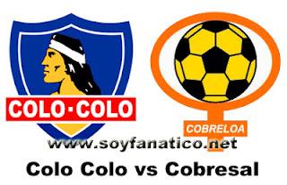 Colo Colo vs Cobresal 2013