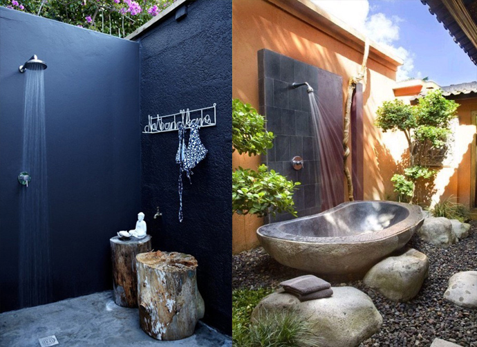 Decordemon Inspiration Outdoor Shower Designs For Your Garden