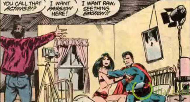 Superman jadi bintang porno