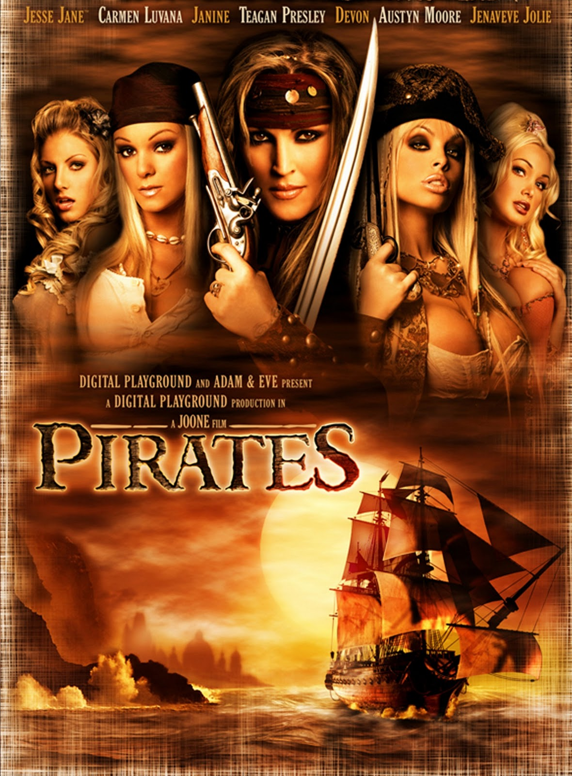 Pirates porno video naked scene