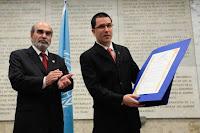 Venezuela recibió reconocimiento de la FAO por su lucha contra el hambre