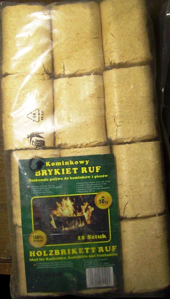 Brykiet RUF z Carrefour