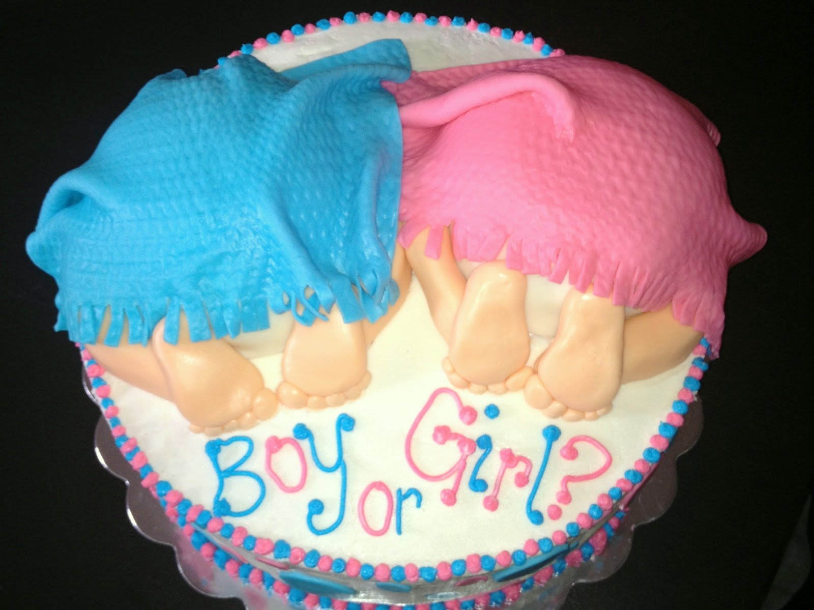 sugar and spice and everything iced gender reveal