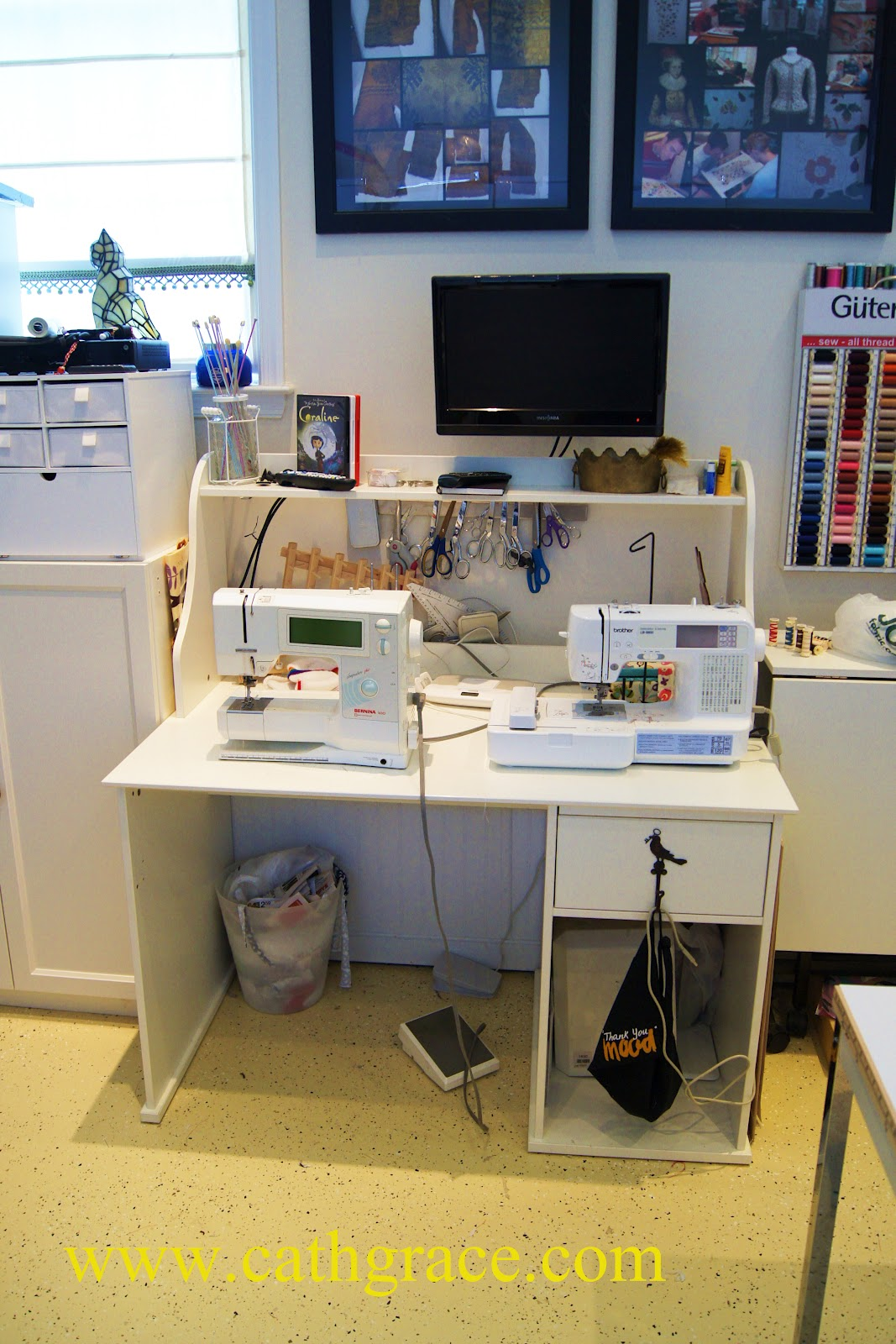CathGrace: My Sewing Room / Craft Studio